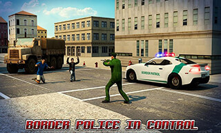 Border Police Adventure Sim 3D скриншот 1