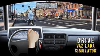 Drive VAZ LADA Simulator скриншот 1