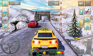 Taxi Driver 3D: Hill Station скриншот 1