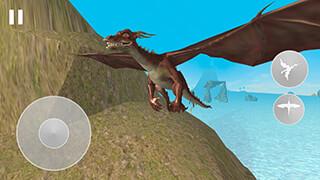 Flying Dragon Simulator 2016 скриншот 2
