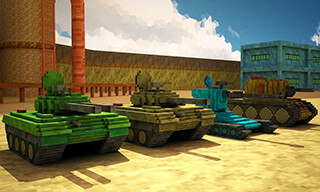 Toon Tank: Craft War Mania скриншот 3
