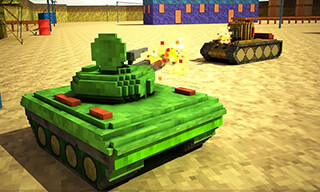 Toon Tank: Craft War Mania скриншот 4
