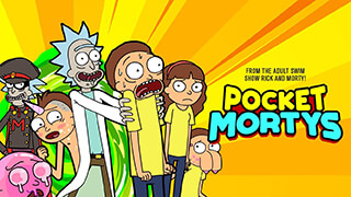 Pocket Mortys скриншот 1