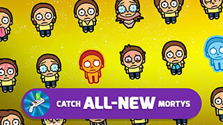 Pocket Mortys скриншот 3