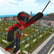 Stickman Rope Hero иконка