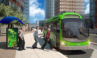 City Bus Simulator 2015 скриншот 1