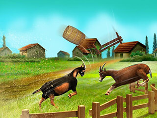 Goat Simulator Free скриншот 4