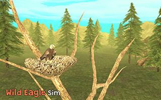 Wild Eagle Sim 3D скриншот 1