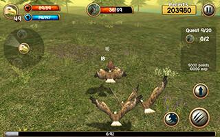 Wild Eagle Sim 3D скриншот 2