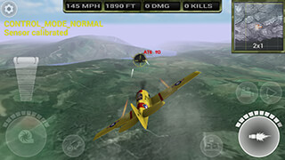 FighterWing 2: Flight Simulator скриншот 3