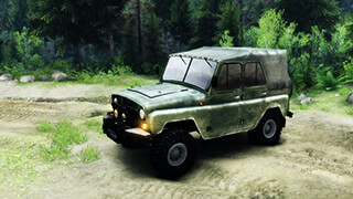 Симулятор вождения УАЗика скриншот 1