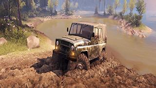 Симулятор вождения УАЗика скриншот 2