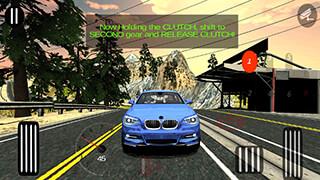 Manual Car Driving скриншот 1
