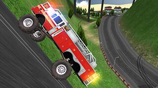 Truck Driving Hill Climb скриншот 2