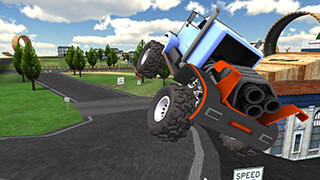 Truck Driving Hill Climb скриншот 3