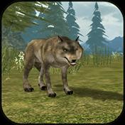 Wild Wolf Simulator 3D иконка