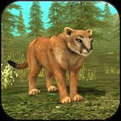 Wild Cougar Sim 3D иконка