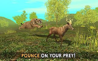 Wild Cougar Sim 3D скриншот 3