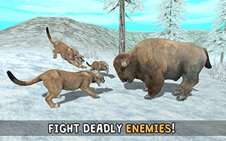 Wild Cougar Sim 3D скриншот 4