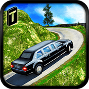 Offroad Hill Limo Driving 3D иконка
