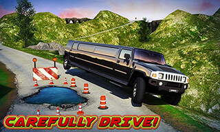 Offroad Hill Limo Driving 3D скриншот 3