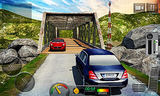 Offroad Hill Limo Driving 3D скриншот 4
