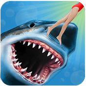 Angry Shark 3D Simulator Game иконка