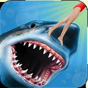 Angry Shark 3D Simulator Game иконка