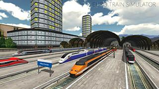 Euro Train Simulator скриншот 1