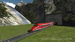 Euro Train Simulator скриншот 2