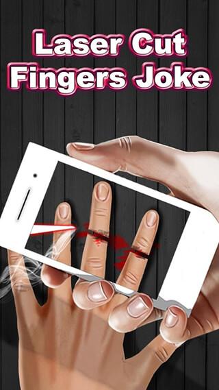 Laser Cut Fingers Joke скриншот 1