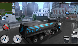 3D Police Truck Simulator 2016 скриншот 1