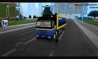3D Police Truck Simulator 2016 скриншот 2