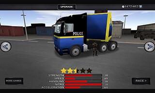 3D Police Truck Simulator 2016 скриншот 4