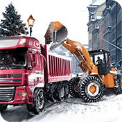 Loader and Dump Truck Winter SIM иконка