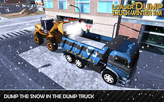 Loader and Dump Truck Winter SIM скриншот 3