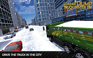 Loader and Dump Truck Winter SIM скриншот 4