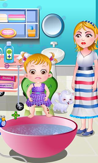 Baby Hazel: Leg Injury скриншот 2
