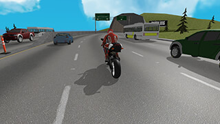 Extreme Motorbike Jump 3D скриншот 2