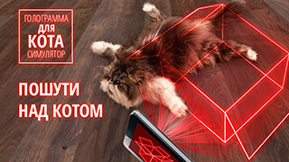 Hologram For Cats: Simulator скриншот 3