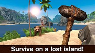 Lost Island: Survival Simulator скриншот 1