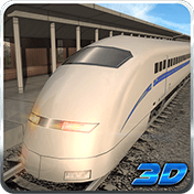 Bullet Train Subway Station 3D иконка