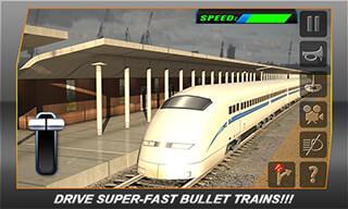 Bullet Train Subway Station 3D скриншот 1