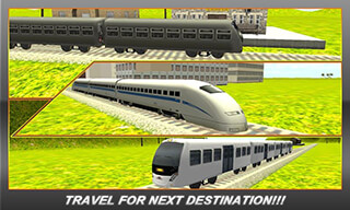 Bullet Train Subway Station 3D скриншот 2