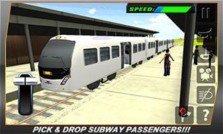 Bullet Train Subway Station 3D скриншот 3