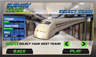 Bullet Train Subway Station 3D скриншот 4