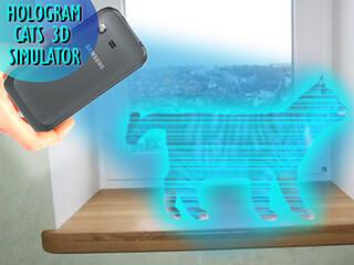 Cats 3D Hologram Simulator скриншот 1
