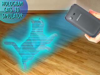 Cats 3D Hologram Simulator скриншот 2
