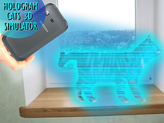 Cats 3D Hologram Simulator скриншот 4