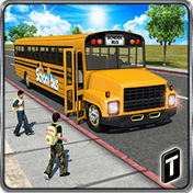 Schoolbus Driver 3D SIM иконка